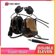 COMTAC III casco de TAC SKY COMTAC iii, soporte de orejera de silicona, auriculares tácticos con reducción de ruido, C3CB