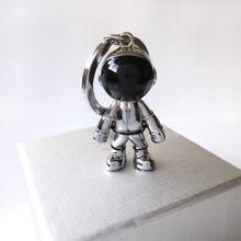 Новинка модный брелок ручной работы 3D астронавт космический робот космический человек брелок сплав подарок для друга