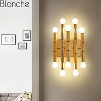 Eoclassical Chinese Style Wall Lamps Modern Led Wall Sconces for Living Room Aisle Bedroom Villa Aisle Decor Lighting Fixtures