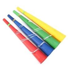 Футбольные игры веер Cheer вечерние Рога Vuvuzela малыш Трубач-игрушка Музыкальные инструменты