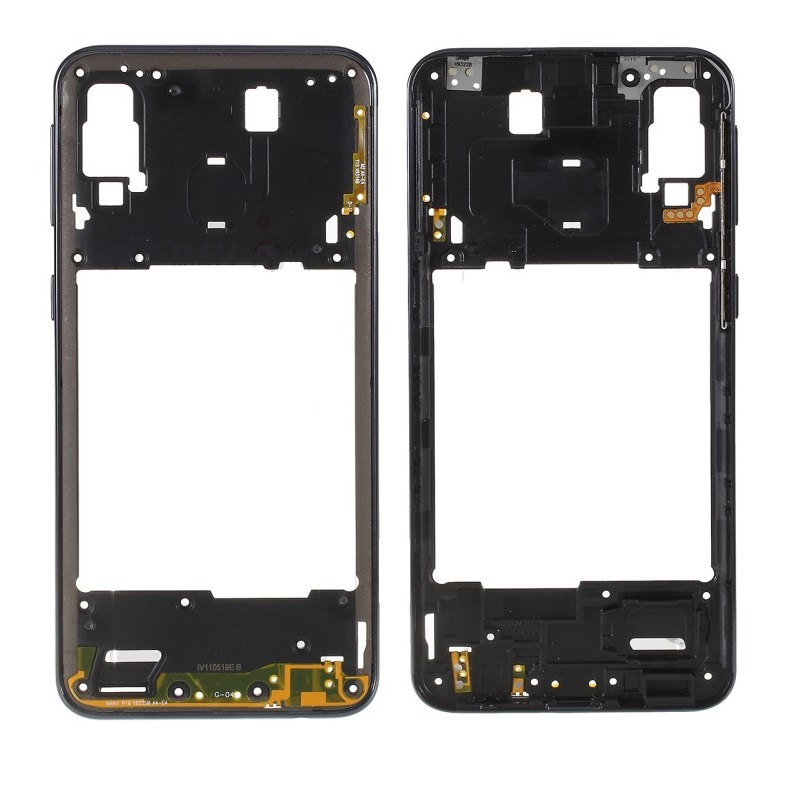 For Samsung Galaxy A40 SM-A405 Blue/Black/Orange Color Rear Back Housing Frame Plate Middle Cover