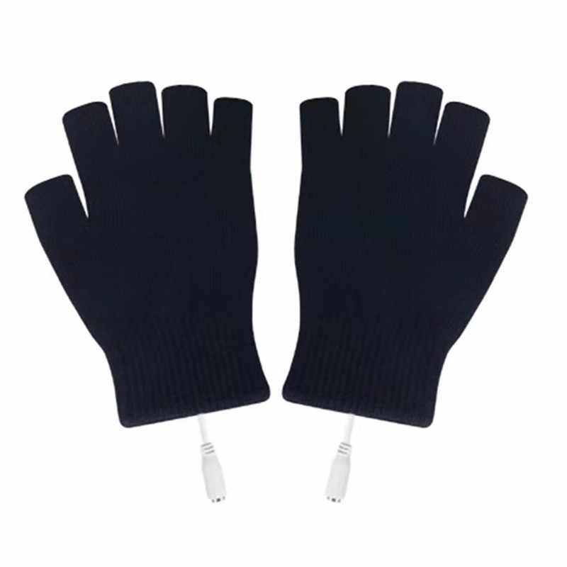 Guantes con calefacción eléctricos de invierno térmicos por USB guantes con calefacción eléctricos guantes con calefacción