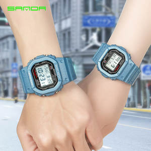 Clock Sports-Watches Electronic-Watch Digital Blue Female Waterproof Women New And Couple