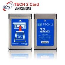 Для GM Tech2 карта с программным обеспечением для Holden/Opel/GM/SAAB/ISUZU/Suzuki 32 Мб карта памяти для GM Tech 2 сканер диагностический инструмент