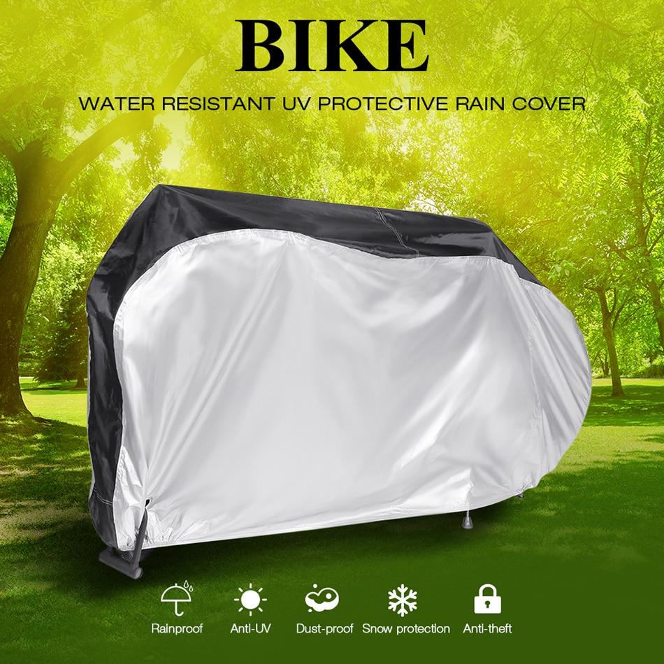 Universal Motorcycle Scooter Waterproof UV Protector Outdoor DustBike Rain Cove