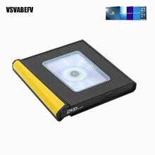 USB 3.0 Type-C DVD CD Drive Burner Drive-free High-speed Read-write Recorder External DVD-RW Player Writer Reader for PC Laptop