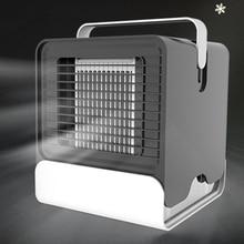 HAVA SOĞUTUCU Fan klima nemlendirici soğutma fanı Mini USB taşınabilir masa masa Dropshipping 10 15 gün gelmesi abd ab FA