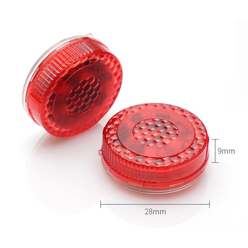 2 stücke Drahtlose Auto Tür Warnung Licht Rot Strobe Blinkende LED Tür Open Sicherheit Flimmern Anti Hinten-ende Kollision 4 farben