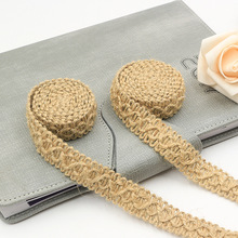 7kinds of hemp lace ribbon DIY handmade accessories clothing shoes accessories lace household wedding sewing accessories