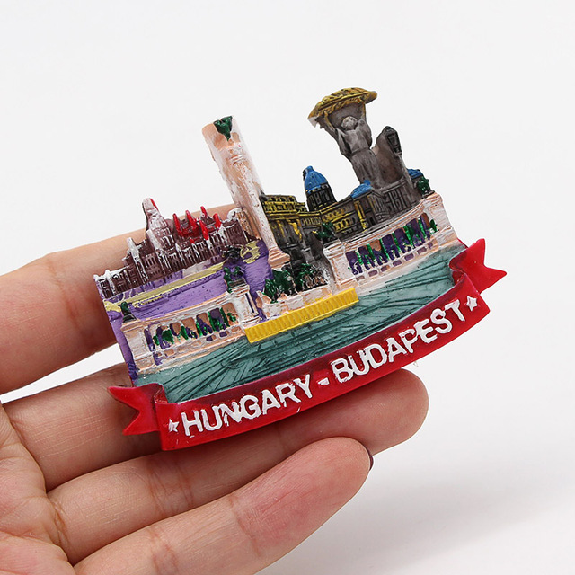 Lucerne lion Macao Italy Venice New Zealand 3D magnetic refrigerator sticker Souvenirs home decoration Budapest Hungary Cambodia 3
