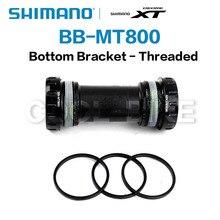 Shimano DEORE XT SLX Bottom Bracket BB-MT800 Hollowtech II Mountain Bike 68/73mm Replaces BB70 use for M8000 M7000 bike parts