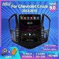 2Din Android 9,0 автомобильное радио для Chevrolet Cruze J300 J308 2012-2015 Автомобильный мультимедийный видео плеер стерео навигация Gps No 2din DVD
