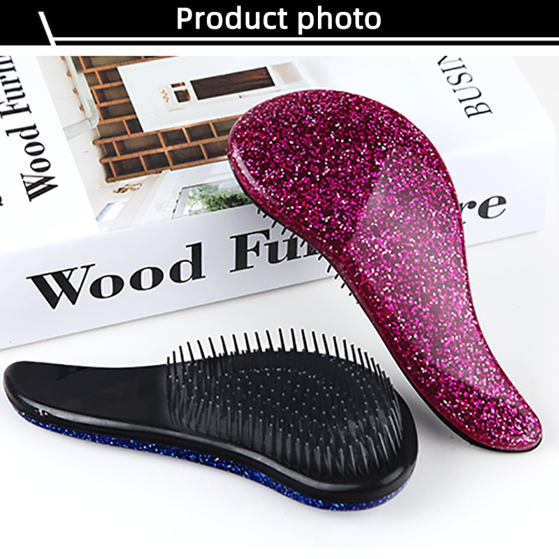 Fashion Plastic Comb Tangle Teezer Airbag Tooth Comb Scalp Massage Comb Hair Comb Styling Tools Tangle Teezer Anti-Static