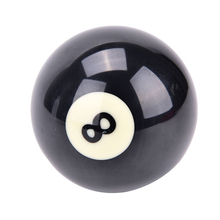Сменный инструмент для начинающих аксессуары для спорта прочный тренировочный обычный стандартный номер 8 бильярдный шар для бильярдный шар из смолы черный