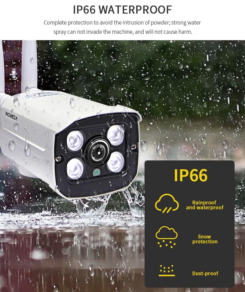 cctv sistema de metal ip câmera cctv casa ip wifi cam