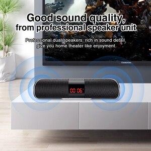 Image 3 - Sanlepus Bluetooth Outdoor Speaker Metal Draagbare Super Bass Draadloze Luidspreker 3D Stereo Muziek Surround Met Tfcard Aux