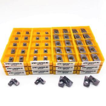 APMT1604 APMT1135 PDER M2  H2 VP15TF carbide insert milling tool APMT 1135 APMT1604end cutter CNC lathe turning