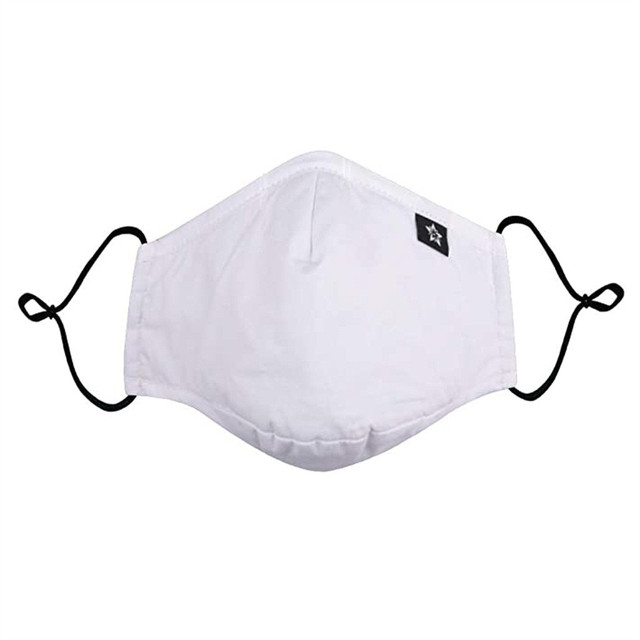 1pcs White Dustproof Mask Washable And Reusable Cotton Mouth Face Masks Mouth Cover For Man And Woman Маска Для Взрослых 2