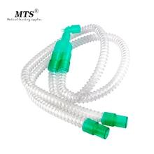 일회용 호흡 회로 Smoothbore 유형 환자 의료 실험을위한 간단한 편리한 효율기도 제공