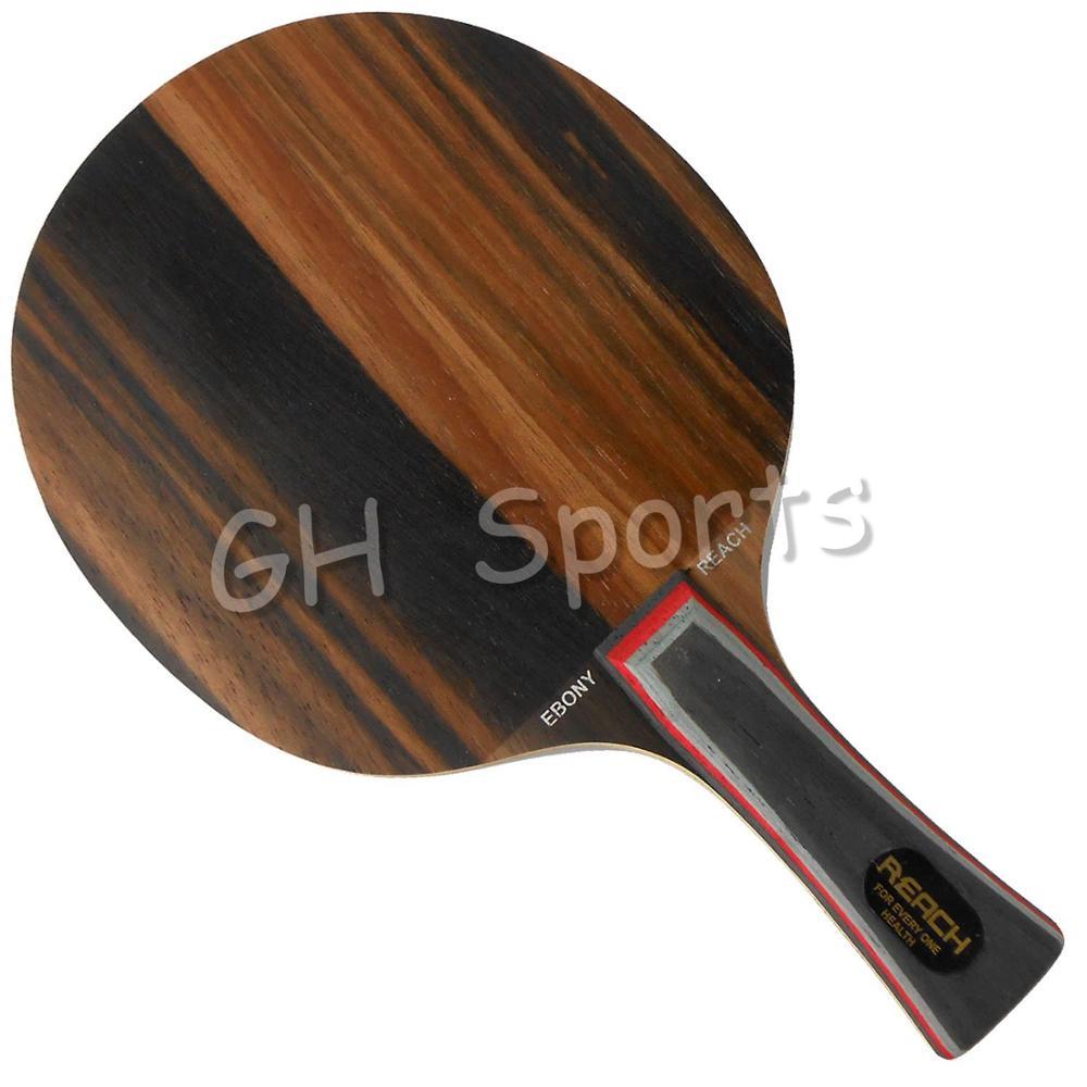 Reach Ebony-7+ Power Ebony 7+ Ebony7+ Medium-Fast Long Shakehand FL Table Tennis Blade For PingPong Racket