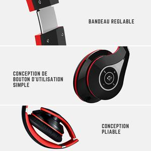 Image 3 - Mpow Best 059 Headphones Wireless Bluetooth 4.0 Headphone Built in Mic Soft Earmuffs Noise Cancelling Stereo Headset For Phones