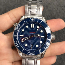 Newest Luxury Men Blue Dial Sapphire Automatic Watch Men's