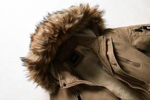 Image 5 - Veste de Parka chaud pour hommes, manteaux épais pour hommes, avec col en fourrure, à capuche, manteaux longs, veste décontractée