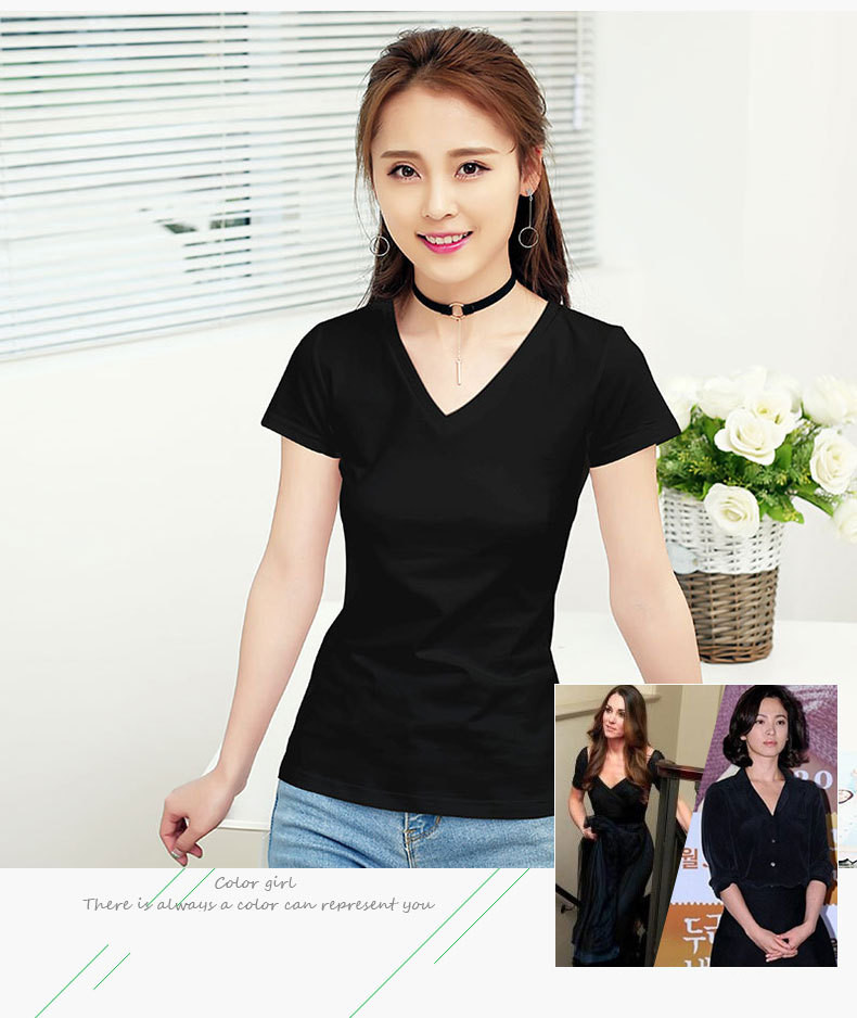 MRMT 2020 Brand New Womens 95% Cotton T-Shirt Pure Color Short Sleeve Women T shirt For Female Slim Tops Woman T shirts Clothing
