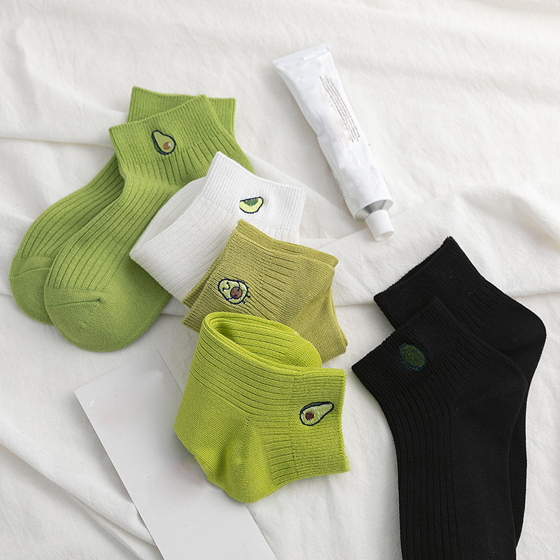 2020 Fashion Summer Women Socks Cotton Casual Girl Student Casual Breathable Sox Short Socks For Lady