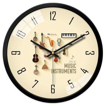 Diameter 40.5cm Clocks Wall Clock Creative Cartoon Children Living Room Clock Quartz Clock Wall Table Bedroom Round Wall Clock