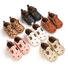 Baby Shoes Toddler Rubber Moccasins First-Walkers Anti-Slip Newborn Retro Hollow-Out