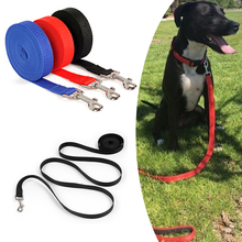 Nylon Pet Dog Leash Lead Rope Clip Reflective For Puppy Collar Harness Running  D40
