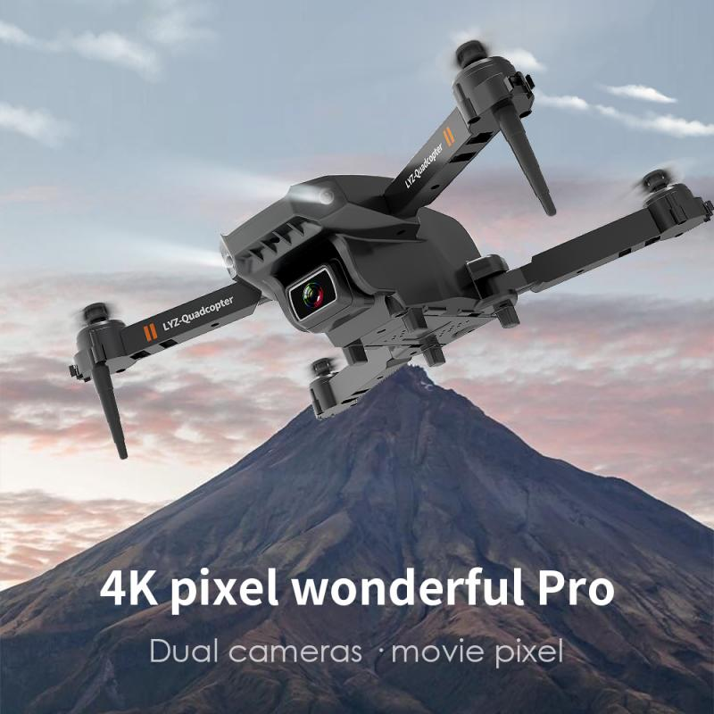 Hc8285596239f47c4b214775b7fde3d09j - L703 Folding Drone 4K HD Aerial Photography Cameras WIFI FPV Aerial Photography Helicopter Foldable Quadcopter Drone Toys