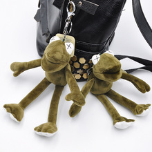 Toy Keychain Plush-Toys Frogs Kermit Doll Gifts Stuffed Animal 20cm Long-Legs Holiday