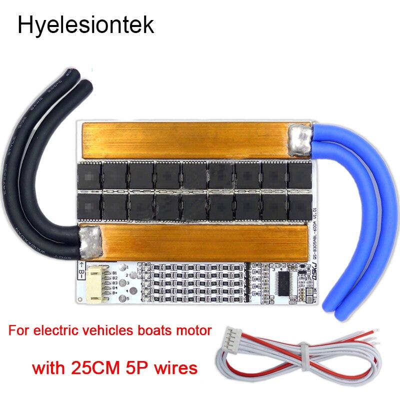 BMS 3S 4S 5S 300A 3,2 в 3,7 В балансировщик 18650 Lipo батарея защита печатная плата зарядное устройство Автомобильное EV для транспортных средств лодки мо...