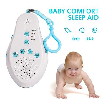 2020 nowe środowisko macicy dziecko wspomagany Instrument snu pomoc w leczeniu zaburzeń snu sterowanie głosem indukcja koi dziecko snu dźwięk maszyna tanie i dobre opinie CN (pochodzenie) 7-12m 13-24m 25-36m 3-6y 7-12y Unisex Baby Sleeping Monitors ABS+PP Built-in 6 soothing sounds Voice control function