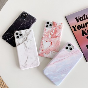 Luxury Marble Phone Case For iPhone 11 Pro Max SE 2020 XR XS X 7 7Plus 8 8Plus 6 6s Silicone Back Cover Soft Tpu Coque