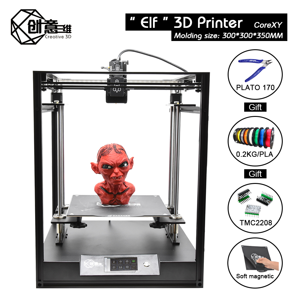 Aluminum-Profile-Frame Axis 3d-Printer Corexy Elf Large-Area Creative3d Double-Z High-Precision title=