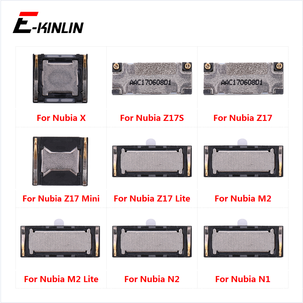 Top Ear Speaker Receiver Earpieces For ZTE Nubia X Z17S Z17 N2 N1 M2 Lite Mini Replacement Parts(China)