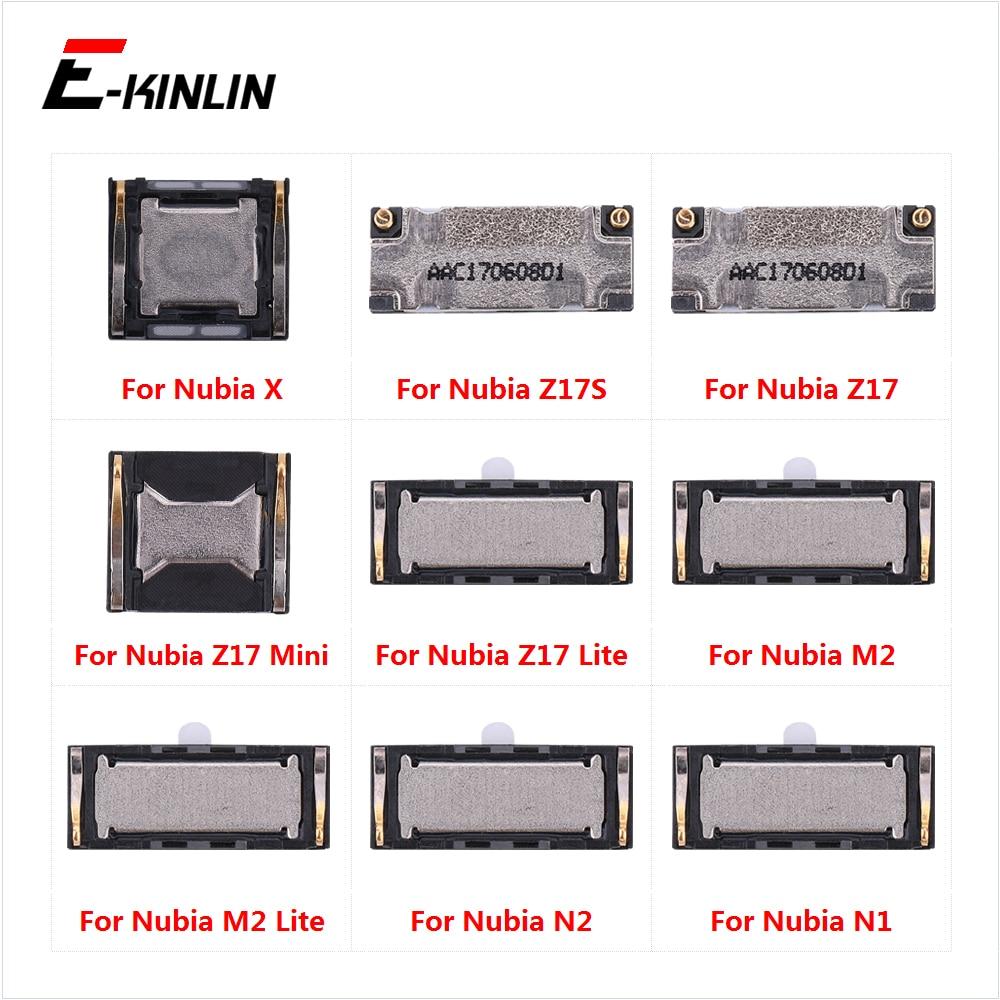 Top Ear Speaker Receiver Earpieces For ZTE Nubia X Z17S Z17 N2 N1 M2 Lite Mini Replacement Parts
