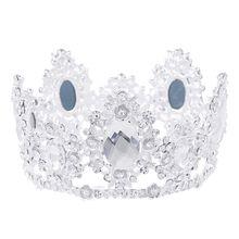 цена на Wedding Crown For Bridal Headpiece  Baroque Crystal Tiaras And Crowns Bride Tiara Wedding Hair Accessories