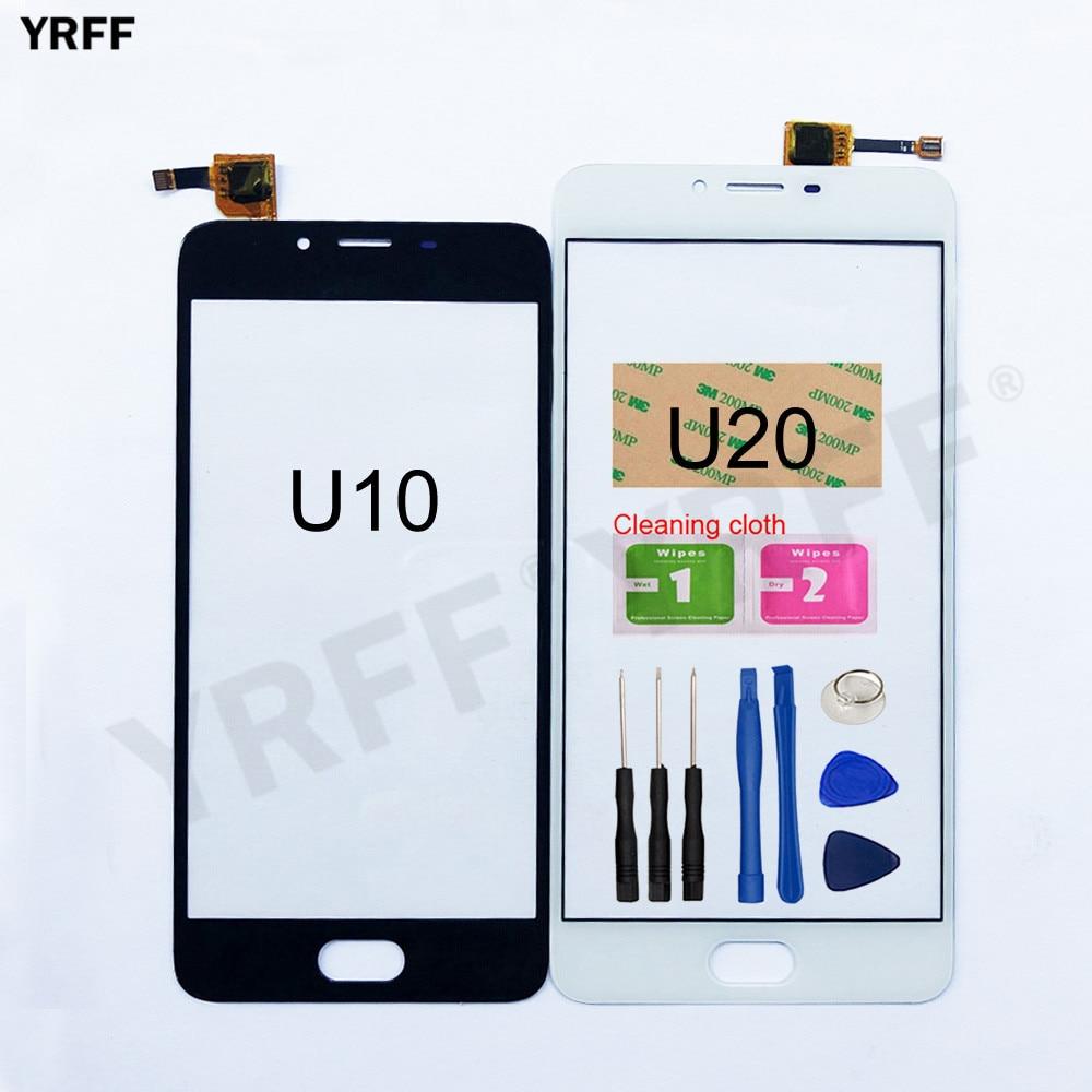 Touch Screen For Meizu MeiLan U20 U10 Touch Screen Digitizer Sensor Glass Panel Replacement