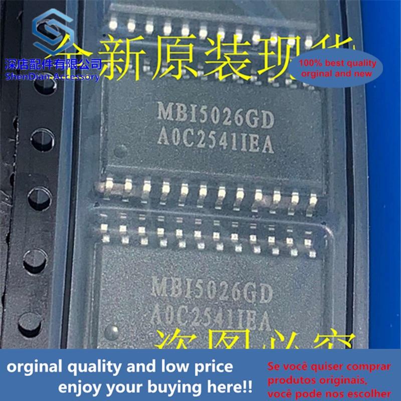 5pcs 100% Orginal And New MBI5026GD MBI SOP24 Best Qualtiy