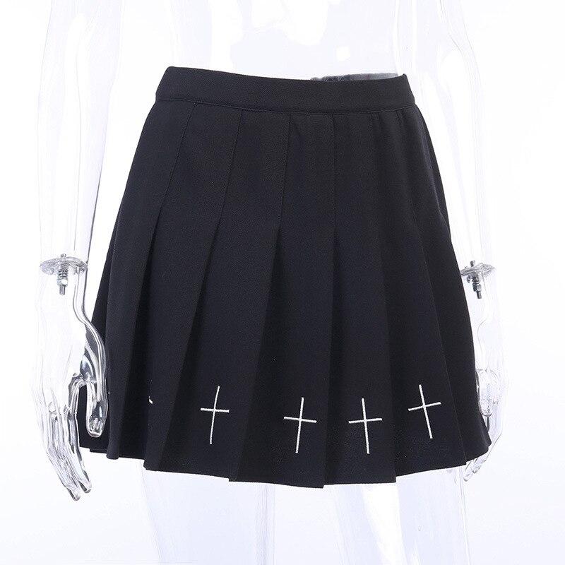 Lolita Black Pleated Skirt 2