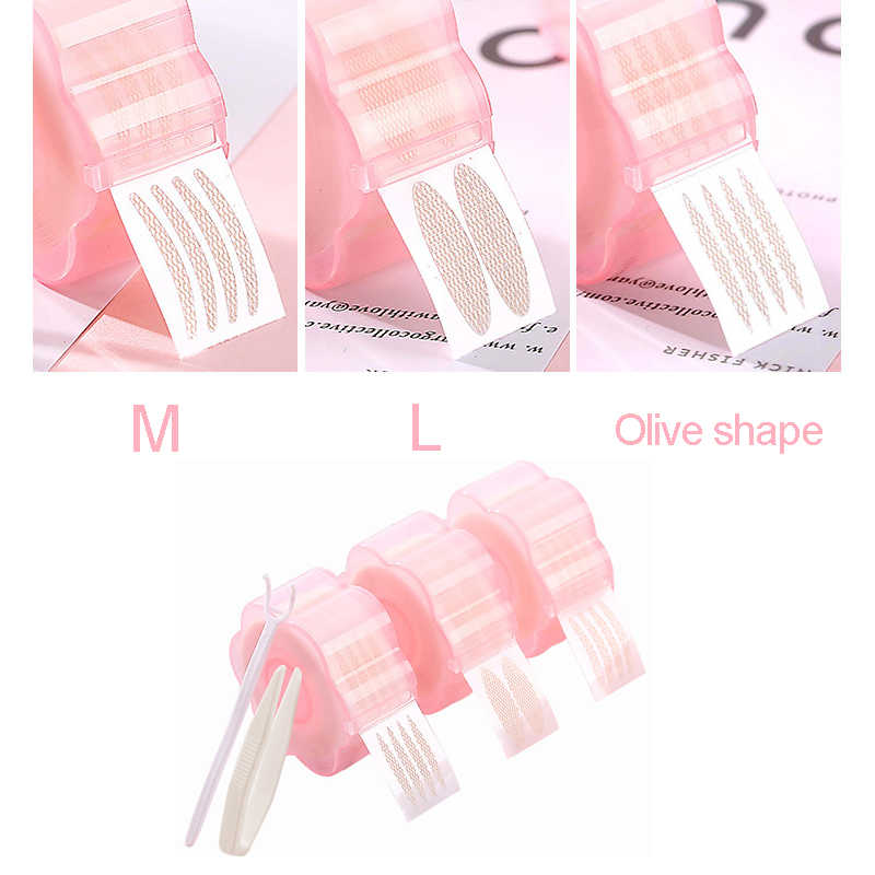 360 Pcs M / L klebeband für augenlider Invisible doppel falten augenlid paste selbst-klebeband für augen make-up-tools
