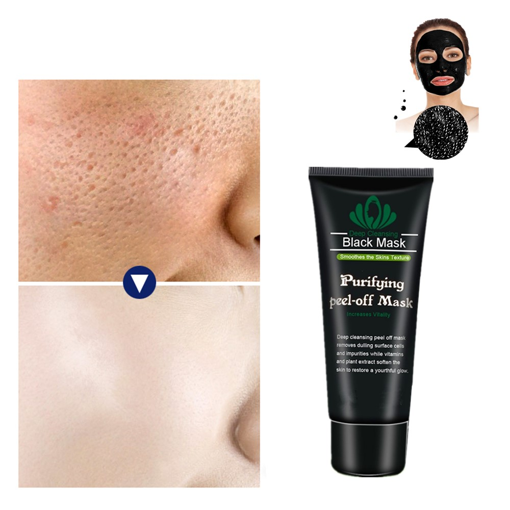 New 2019 Bamboo Charcoal Black Care Masks Tearing Clean T Area Film Deep Cleansing Acne Defects Facial Wrinkles