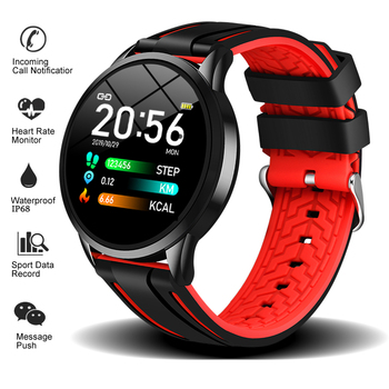 LIGE 2019 New listing Sport Smart Bracelet Heart rate Blood pressure Monitor Watch Men Women Fashion Wristband+Box