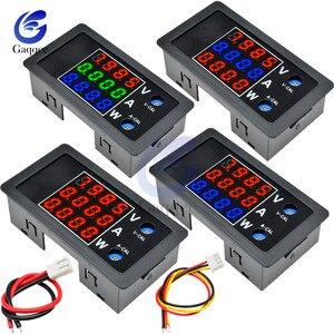 DC 0-100V 10A 1000W LED Digital Voltmeter Ammeter Wattmeter Voltage Current Power Supply Energy Meter Detector Tester Monitor(China)