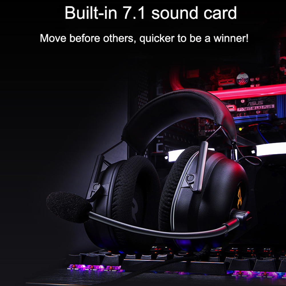 Somic 3.5mm USB Gaming Headphone 7.1 Surround Sound Wired Over Ear Ergonomic Headset Earphone For PC Gamer with Microphone|Headphone/Headset| - AliExpress