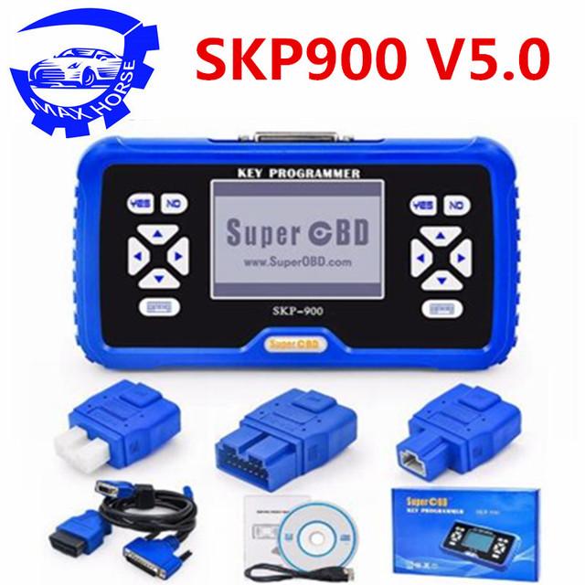 SuperOBD SKP900 SKP-900 auto key programmer Life-time Free Update Online Support Almost All Cars Original Latest Version V5.0